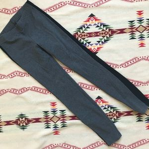 Madewell tux legging gray black XS